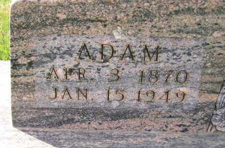 HAHN, ADAM - Miner County, South Dakota | ADAM HAHN - South Dakota Gravestone Photos