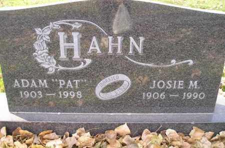 HAHN, JOSIE M. - Miner County, South Dakota | JOSIE M. HAHN - South Dakota Gravestone Photos