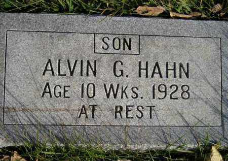 HAHN, ALVIN G. - Miner County, South Dakota | ALVIN G. HAHN - South Dakota Gravestone Photos
