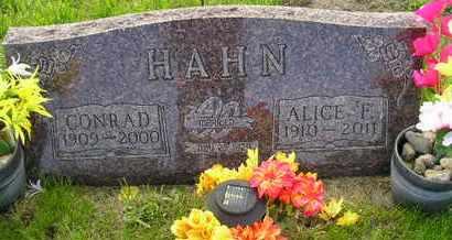 HAHN, ALICE F - Miner County, South Dakota | ALICE F HAHN - South Dakota Gravestone Photos