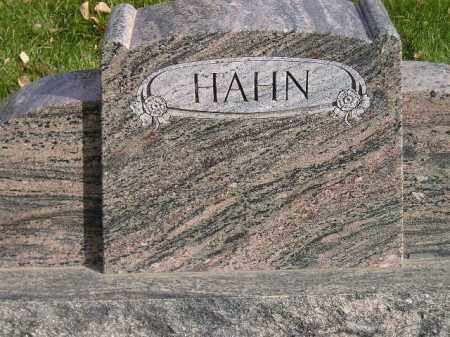 HAHN, FAMILY STONE - Miner County, South Dakota | FAMILY STONE HAHN - South Dakota Gravestone Photos