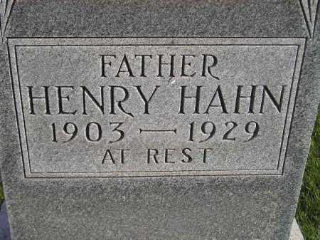 HAHN, HENRY - Miner County, South Dakota | HENRY HAHN - South Dakota Gravestone Photos