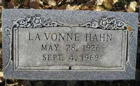 HAHN, LA VONNE - Miner County, South Dakota | LA VONNE HAHN - South Dakota Gravestone Photos