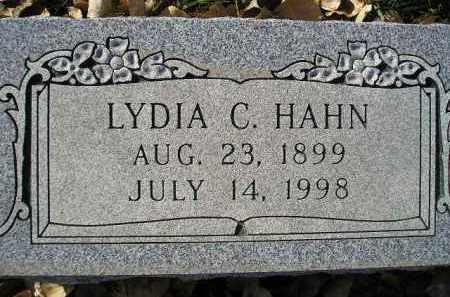 HAHN, LYDIA C. - Miner County, South Dakota   LYDIA C. HAHN - South Dakota Gravestone Photos