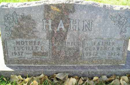 HAHN, CLARENCE W. - Miner County, South Dakota | CLARENCE W. HAHN - South Dakota Gravestone Photos