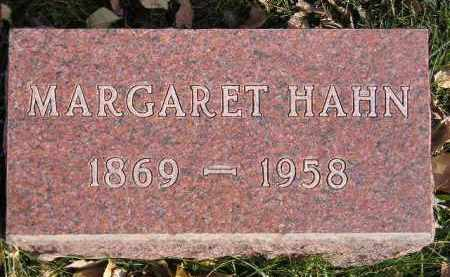 HAHN, MARGARET KLUSSMAN - Miner County, South Dakota | MARGARET KLUSSMAN HAHN - South Dakota Gravestone Photos