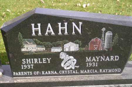 HAHN, SHIRLEY - Miner County, South Dakota   SHIRLEY HAHN - South Dakota Gravestone Photos