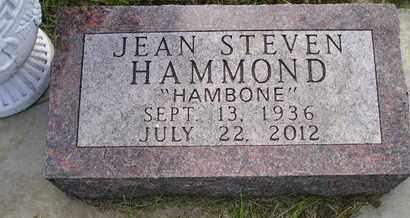 HAMMOND, JEAN STEVEN - Miner County, South Dakota | JEAN STEVEN HAMMOND - South Dakota Gravestone Photos