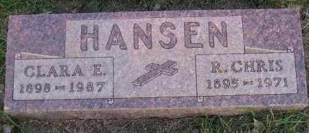 HANSEN, R. CHRIS - Miner County, South Dakota | R. CHRIS HANSEN - South Dakota Gravestone Photos