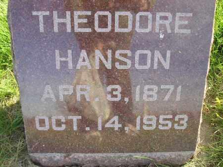 HANSON, THEODORE - Miner County, South Dakota | THEODORE HANSON - South Dakota Gravestone Photos