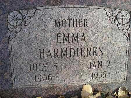 HARMDIERKS, EMMA - Miner County, South Dakota | EMMA HARMDIERKS - South Dakota Gravestone Photos