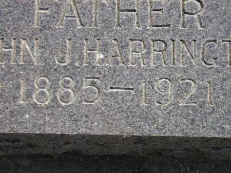 HARRINGTON, JOHN J. - Miner County, South Dakota | JOHN J. HARRINGTON - South Dakota Gravestone Photos
