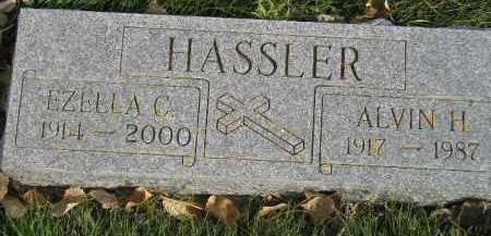 HASSLER, EZELLA CECELIA TIMMONS - Miner County, South Dakota | EZELLA CECELIA TIMMONS HASSLER - South Dakota Gravestone Photos