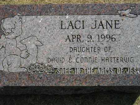 HATTERVIG, LACI JANE - Miner County, South Dakota | LACI JANE HATTERVIG - South Dakota Gravestone Photos