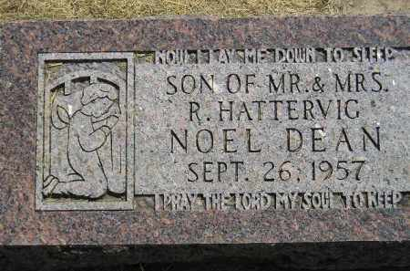 HATTERVIG, NOEL DEAN - Miner County, South Dakota | NOEL DEAN HATTERVIG - South Dakota Gravestone Photos