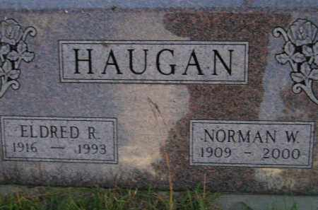 HAUGAN, NORMAN W. - Miner County, South Dakota | NORMAN W. HAUGAN - South Dakota Gravestone Photos