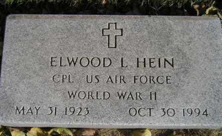 HEIN, ELWOOD L. (WW II) - Miner County, South Dakota | ELWOOD L. (WW II) HEIN - South Dakota Gravestone Photos