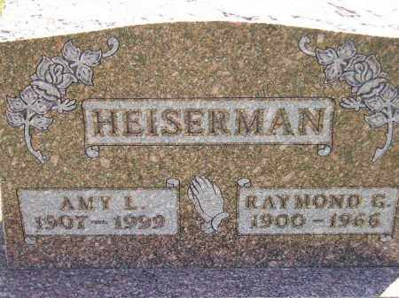 HEISERMAN, AMY L. - Miner County, South Dakota | AMY L. HEISERMAN - South Dakota Gravestone Photos