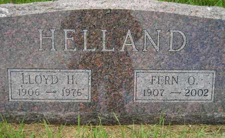 HELLAND, FERN O. - Miner County, South Dakota | FERN O. HELLAND - South Dakota Gravestone Photos
