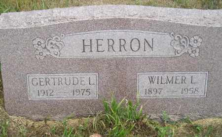 HERRON, WILMER L. - Miner County, South Dakota | WILMER L. HERRON - South Dakota Gravestone Photos