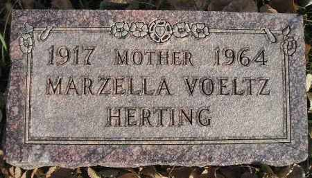 VOELTZ HERTING, MARZELLA - Miner County, South Dakota | MARZELLA VOELTZ HERTING - South Dakota Gravestone Photos