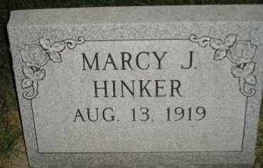 HINKER, MARCY J. - Miner County, South Dakota | MARCY J. HINKER - South Dakota Gravestone Photos