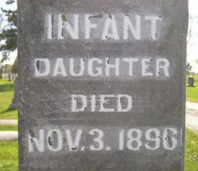 HIRCHERT, INFANT DAUGHTER - Miner County, South Dakota | INFANT DAUGHTER HIRCHERT - South Dakota Gravestone Photos
