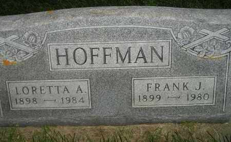 HOFFMAN, LORETTA A. - Miner County, South Dakota   LORETTA A. HOFFMAN - South Dakota Gravestone Photos