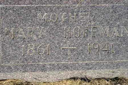 HOFFMAN, MARY - Miner County, South Dakota | MARY HOFFMAN - South Dakota Gravestone Photos