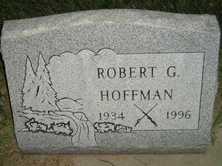 HOFFMAN, ROBERT G. - Miner County, South Dakota | ROBERT G. HOFFMAN - South Dakota Gravestone Photos