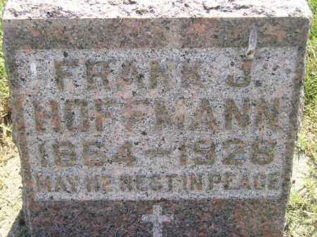 HOFFMANN, FRANK J. - Miner County, South Dakota | FRANK J. HOFFMANN - South Dakota Gravestone Photos