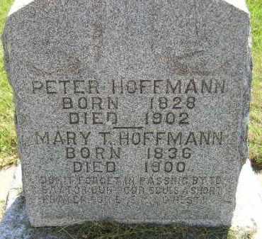 HOFFMANN, PETER - Miner County, South Dakota | PETER HOFFMANN - South Dakota Gravestone Photos