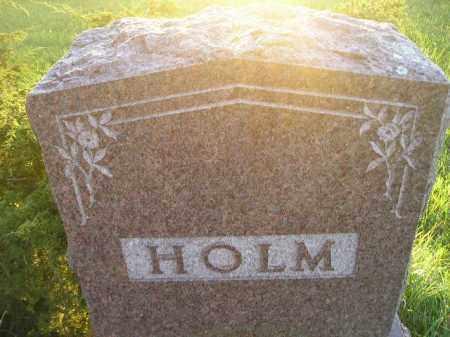 HOLM, FAMILY STONE - Miner County, South Dakota | FAMILY STONE HOLM - South Dakota Gravestone Photos