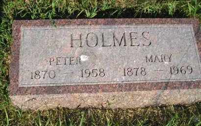 HOLMES, MARY - Miner County, South Dakota | MARY HOLMES - South Dakota Gravestone Photos