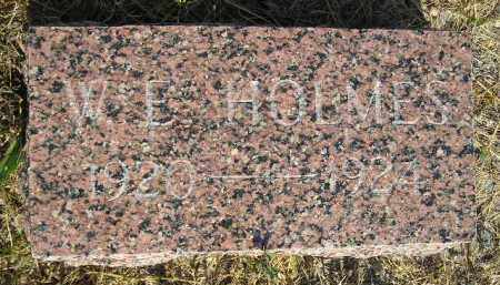 HOLMES, W.E. - Miner County, South Dakota   W.E. HOLMES - South Dakota Gravestone Photos