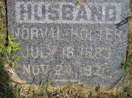 HOLTER, NORVAL - Miner County, South Dakota | NORVAL HOLTER - South Dakota Gravestone Photos