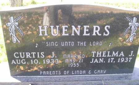 HUENERS, CURTIS J. - Miner County, South Dakota | CURTIS J. HUENERS - South Dakota Gravestone Photos