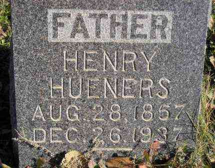 HUENERS, HENRY - Miner County, South Dakota | HENRY HUENERS - South Dakota Gravestone Photos