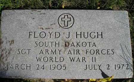 HUGH, FLOYD J. (WW II) - Miner County, South Dakota | FLOYD J. (WW II) HUGH - South Dakota Gravestone Photos