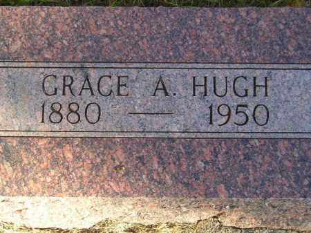 HUGH, GRACE A. - Miner County, South Dakota | GRACE A. HUGH - South Dakota Gravestone Photos