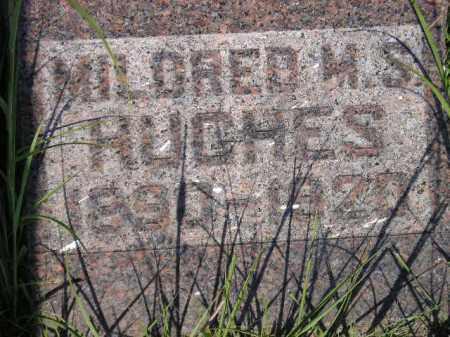 HUGHES, MILDRED M.S. - Miner County, South Dakota | MILDRED M.S. HUGHES - South Dakota Gravestone Photos