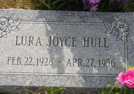 HULL, LURA JOYCE - Miner County, South Dakota | LURA JOYCE HULL - South Dakota Gravestone Photos
