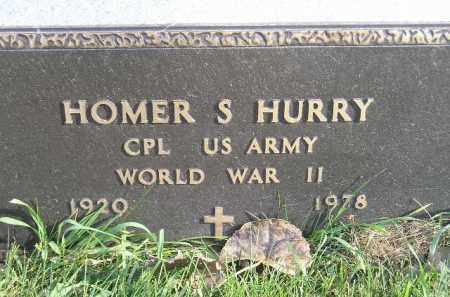 HURRY, HOMER S. (WW II) - Miner County, South Dakota | HOMER S. (WW II) HURRY - South Dakota Gravestone Photos