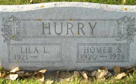 HURRY, LILA L. - Miner County, South Dakota | LILA L. HURRY - South Dakota Gravestone Photos