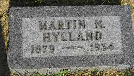 HYLLAND, MARTIN N. - Miner County, South Dakota | MARTIN N. HYLLAND - South Dakota Gravestone Photos