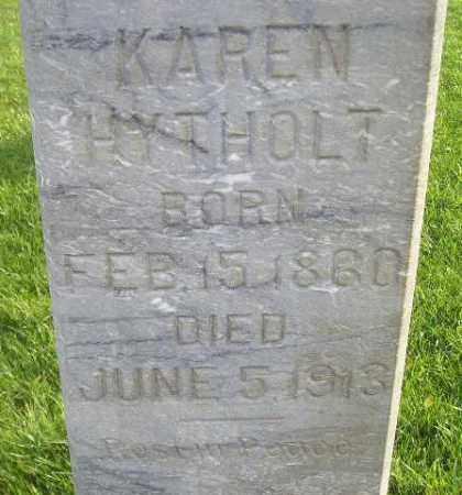 HYTHOLT, KAREN - Miner County, South Dakota | KAREN HYTHOLT - South Dakota Gravestone Photos