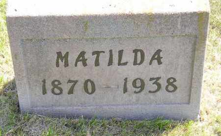 ISAACSON, MATILDA - Miner County, South Dakota   MATILDA ISAACSON - South Dakota Gravestone Photos