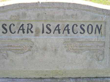 ISAACSON, OSCAR - Miner County, South Dakota | OSCAR ISAACSON - South Dakota Gravestone Photos