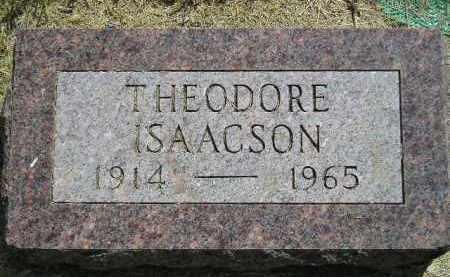 ISAACSON, THEODORE - Miner County, South Dakota | THEODORE ISAACSON - South Dakota Gravestone Photos