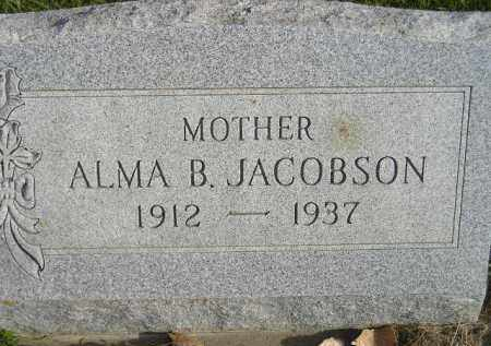 VOELTZ JACOBSON, ALMA B. - Miner County, South Dakota | ALMA B. VOELTZ JACOBSON - South Dakota Gravestone Photos